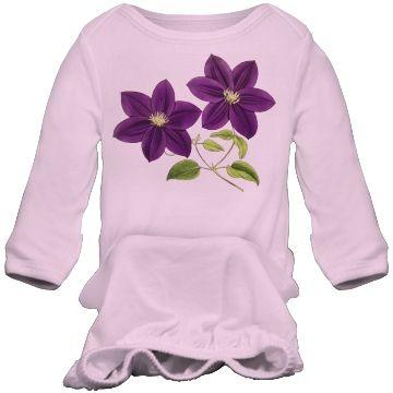 elegant floral leaf  | Floral Flowers Leaf Leaves Purple Vintage