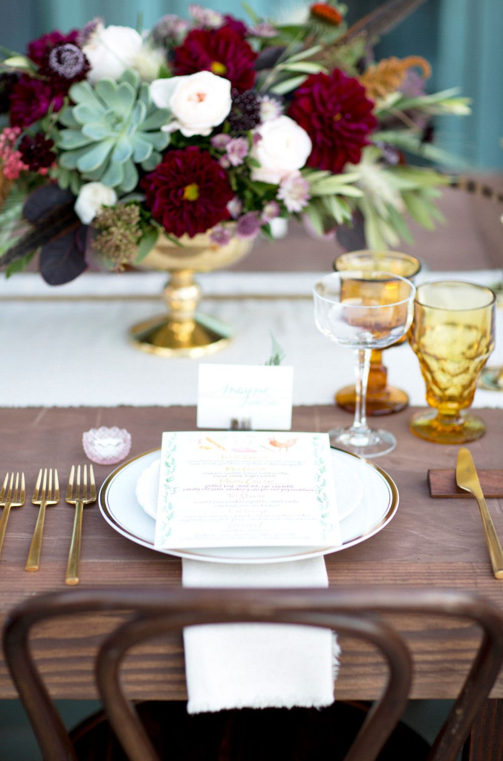 Bohemian Wedding in Carmel with a Fall Color Pallete | Colour ...