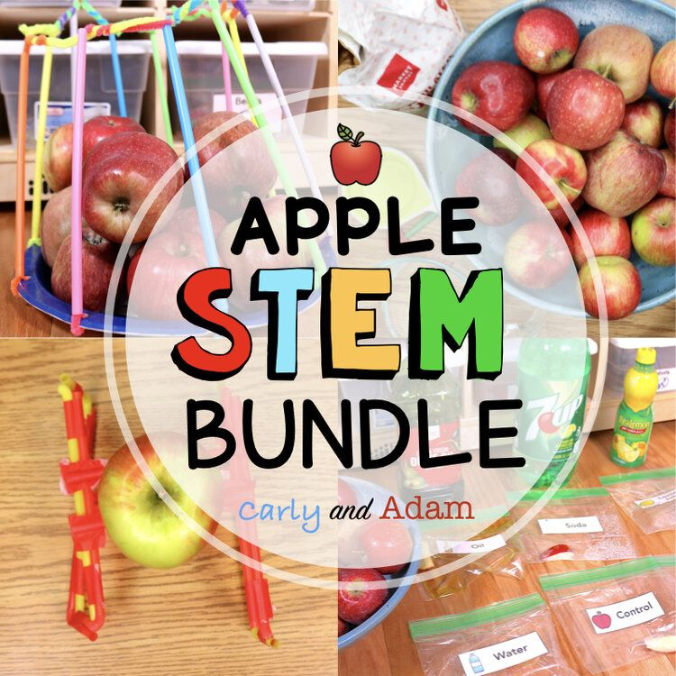 The Best Apple Stem Challenges And Science Experiments Stem Challenges Stem Activities How To Make Applesauce