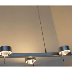 Photo of Top Light Puk Sixtett pendant light chrome 6x lens matt / 6x glass matt Standard version Top Light