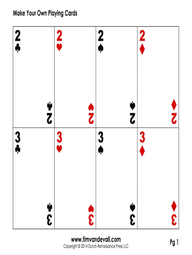 Editable Playing Card Template Fill Online Printable For Deck Of Cards Template Callforpc Blank Playing Cards Printable Playing Cards Custom Playing Cards