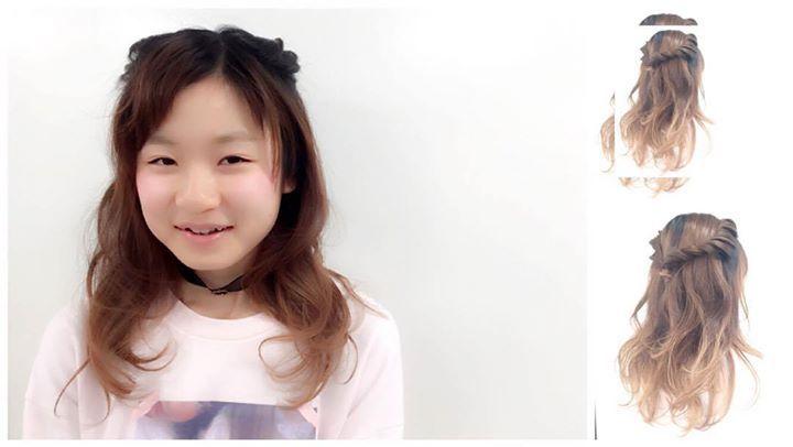 Repost a new photo taken by maki_hotaka! カワイイstyleも 作れちゃうんですよ 全体を緩い内巻きに ねじねじで猫耳風 (午前のhairarrangeの授業) #hair #arrange #girl #friends #hairstyle #beautyschool #japan #girly #cute #pretty #pink #today #tokyo #shibuya #harajyuku #美容学生 #カワイイ #女の子 #作品撮り#instagramsearch #searchinstagram http://ift.tt/1QO65bN More post like this http://goo.gl/kZKBdC - http://ift.tt/1Myc4xw