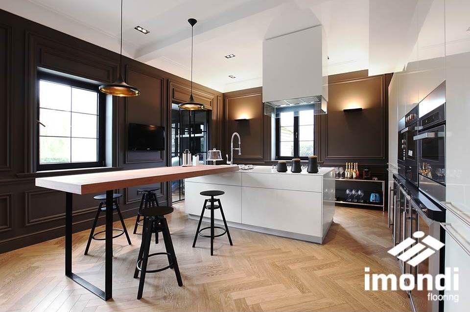Visgraat Vloer Keuken : Een visgraat vloer kan ook prima in de keuken visgraat keuken