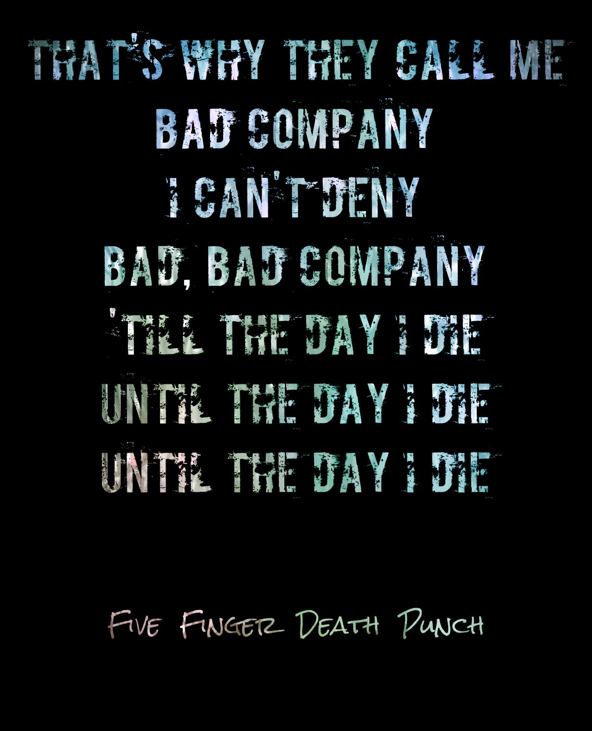 five finger death punch bad company free mp3 download