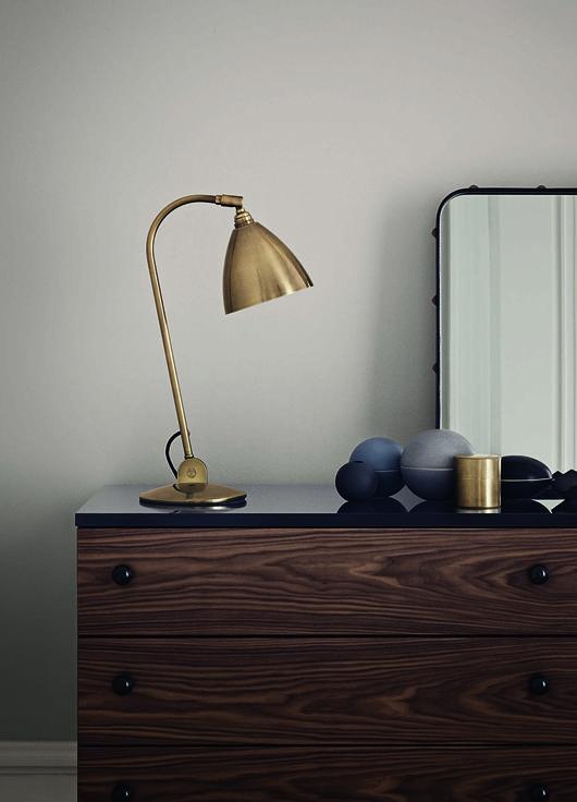 really love the matt golden lamp!!  Trendenser.se - en av Sveriges största inredningsbloggar