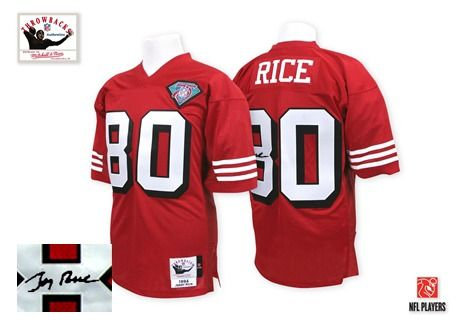 new concept 86409 34787 Jerry Rice Authentic Jersey-80%OFF Mitchell and Ness ...