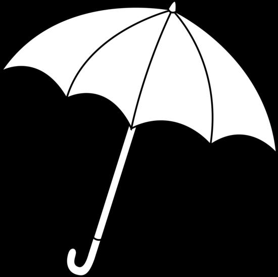 Black And White Umbrella Lineart Free Clip Art Umbrella Drawing Umbrella White Umbrella