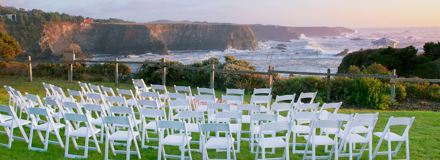 Northern California Wedding Venues Heritage House Resort Little River Ca
