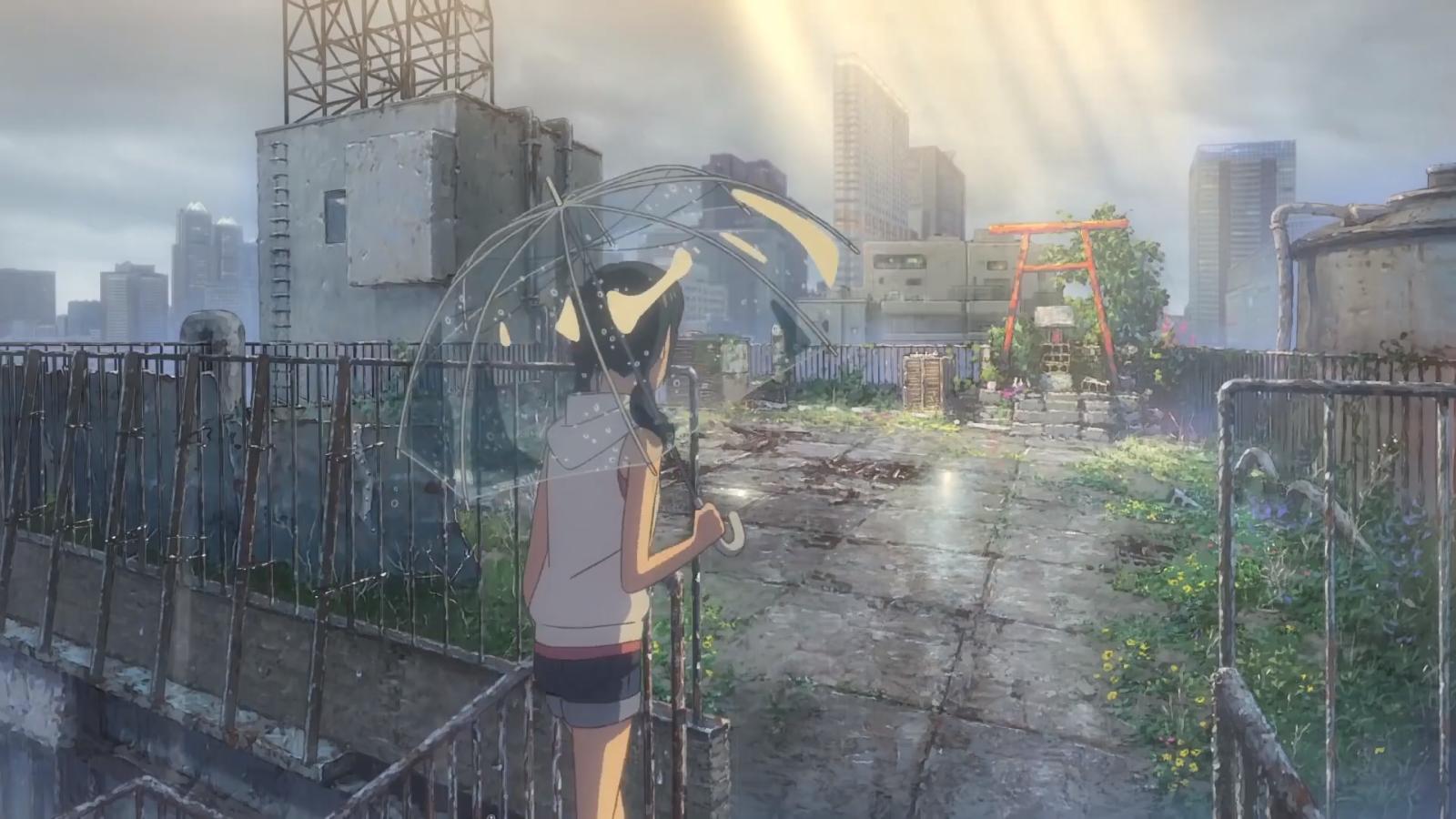 Hình Anime Tenki no ko Makoto shinkai movies, Anime
