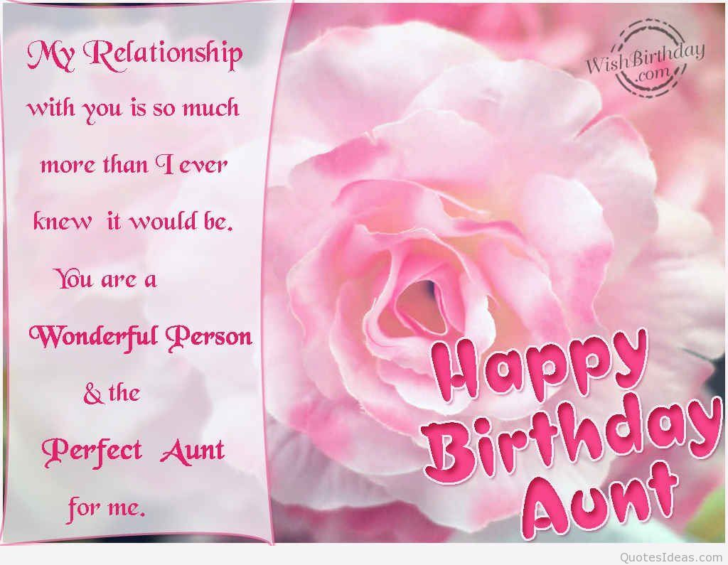Happy birthday aunt wishes cards messages home design idea happy birthday aunt wishes cards messages kristyandbryce Images