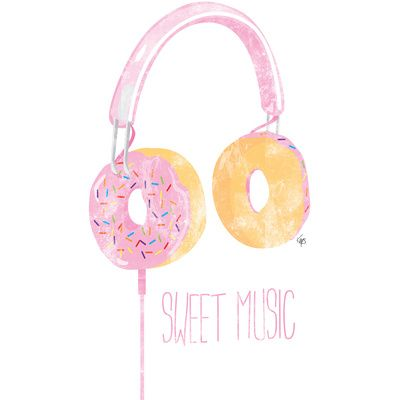 Sweet Music (Look for my Chocolate Version too!) Art Print