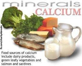 Include calcium and minerals in your diet...