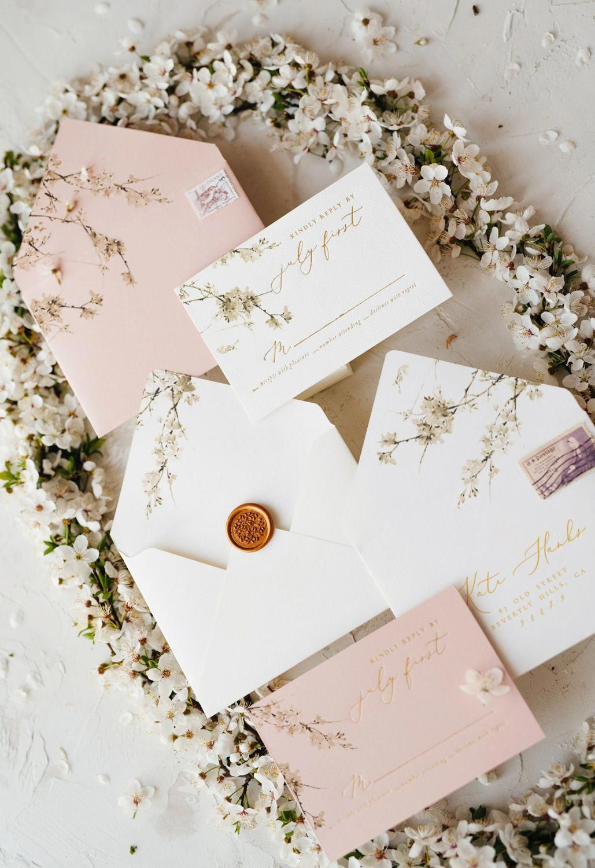 6 00 Romantic Handmade Wedding Invitation Design With Modern Calligrap Wedding Invitations Romantic Wedding Invitation Design Personalised Wedding Invitations