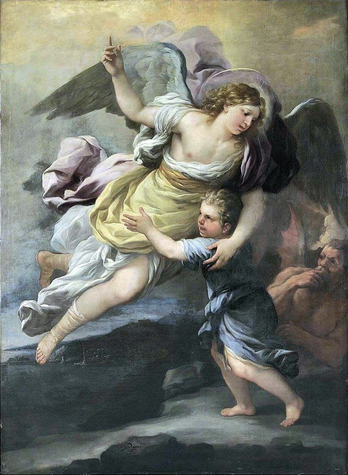 Image result for Free pictures of the parable of the Guardian Angels