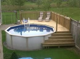 Photo of 50 Best Above Ground Pools with Decks