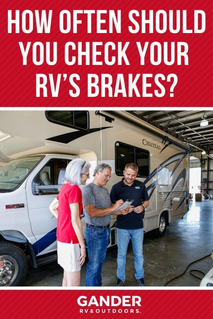 How Often Do You Need to Check Your RV's Brakes? Large