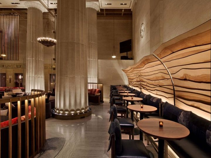 Nobu Downtown by Rockwell Group, New York City » Retail Design Blog - new 10 restaurant financial statement