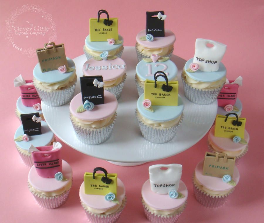 Ping Bag Cupcakes Cake By The Clever Little Cupcake Company