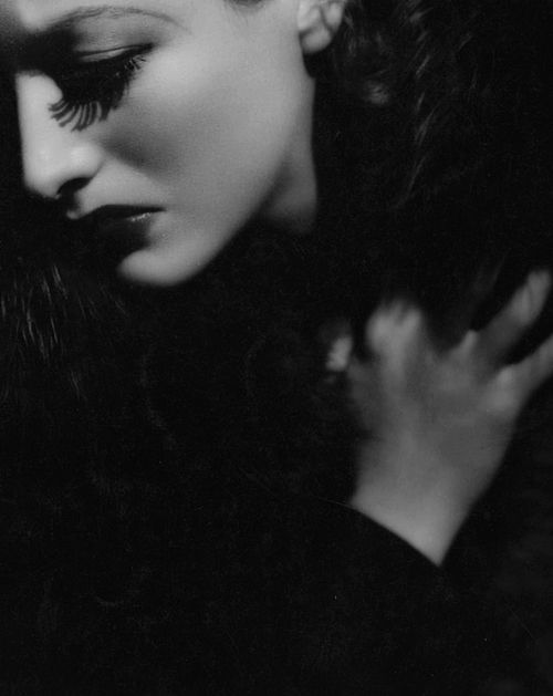 Joan Crawford - Photo by George Hurrell from Letty Lynton (1932)