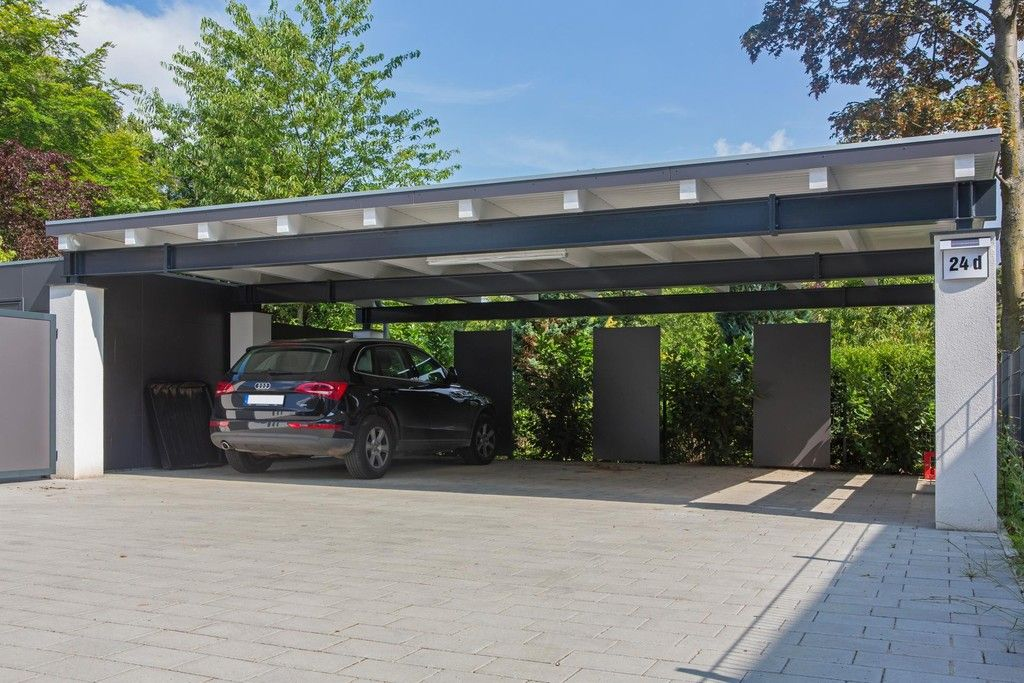 "meincarport.de Carports ""Bauhaus/Stahl"" Carport"