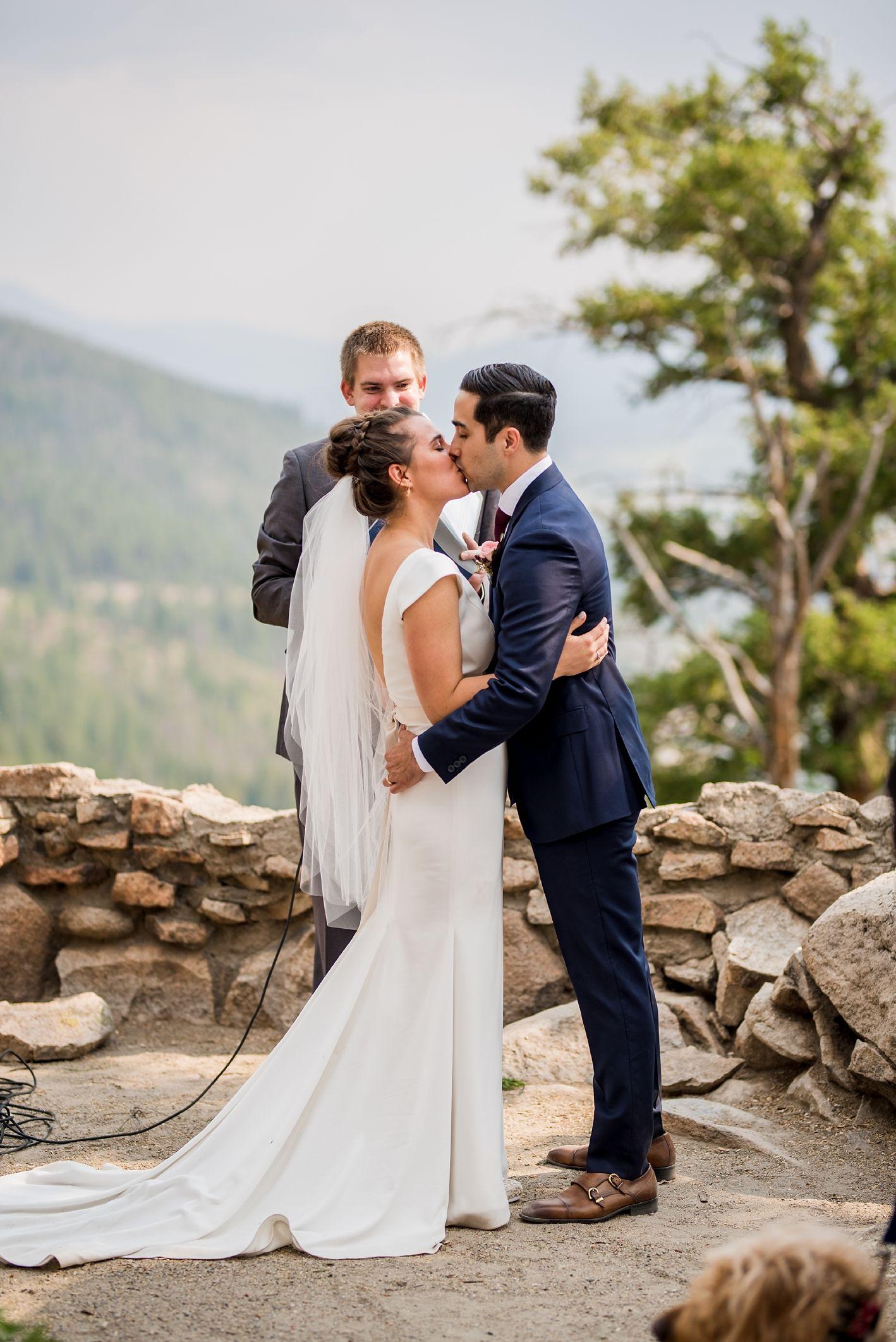 Emma & Jason Small intimate wedding, Colorado wedding