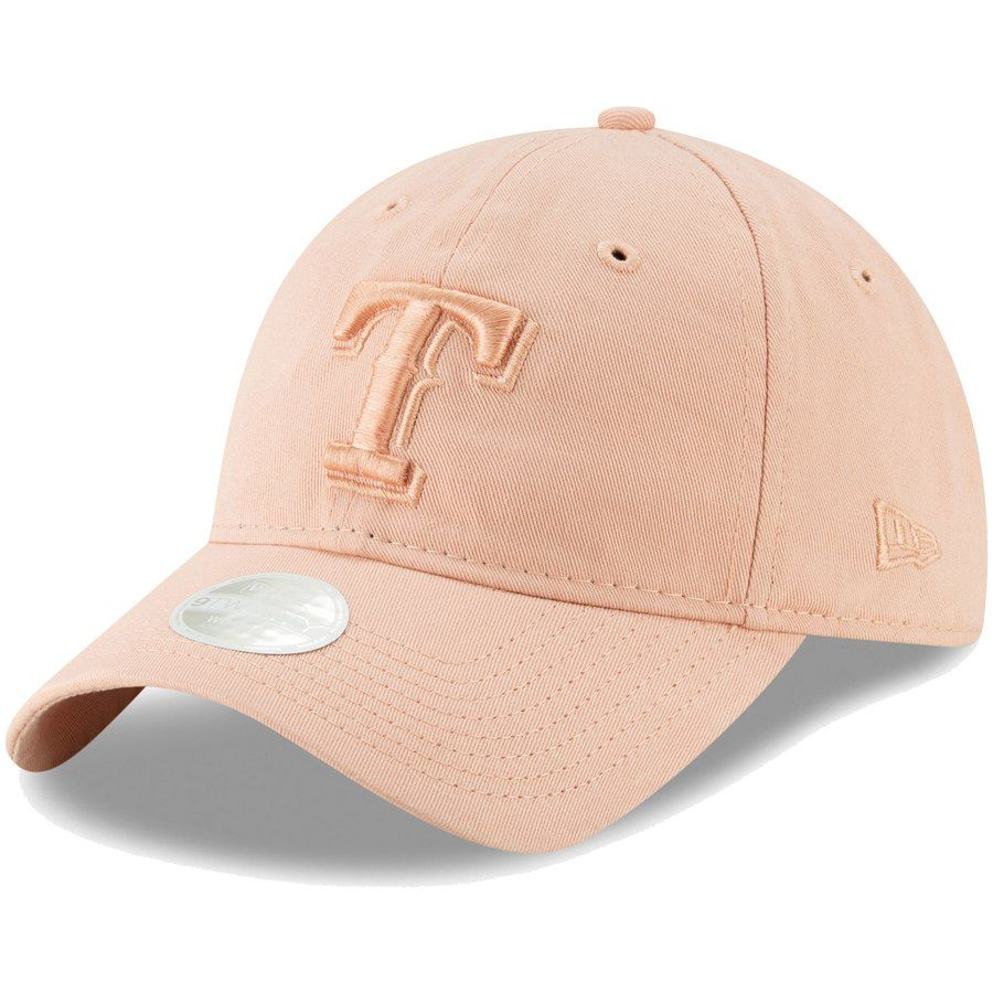 sports shoes 96e79 b7d5b Women s Texas Rangers New Era Pink Tonal Blush Sky Core Classic 9TWENTY  Adjustable Hat, Your. Visit. March 2019