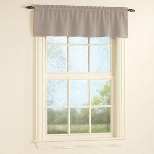 Walmart Mainstays Bennett Polyester Window Valance Window Valance Valance Windows