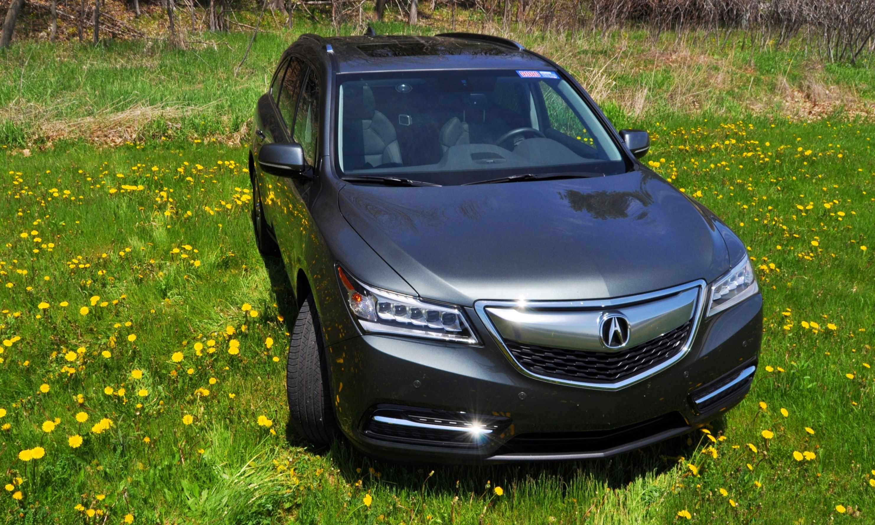 road test review 2014 acura mdx sh awd is premium and posh 7 seat