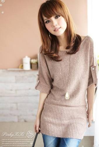 9a1edee6b2 Moda Japonesa Vestidos-blusas - Sueteres  480 Envio Gratis