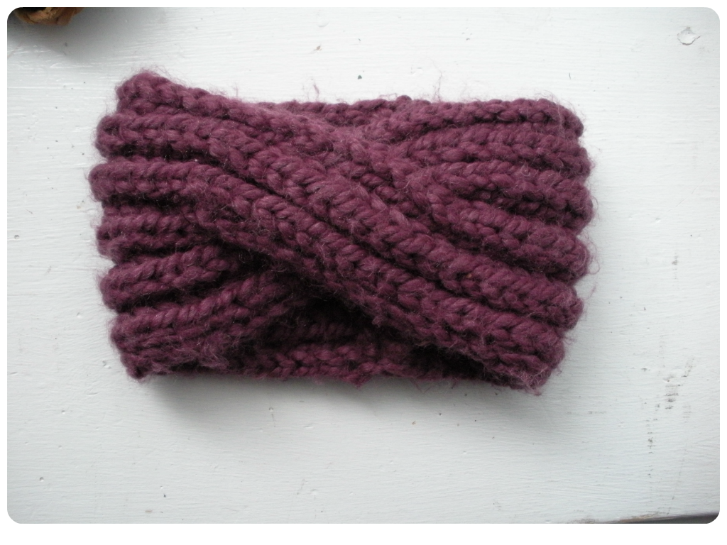 Free Pattern: Knit Turban Headband | Tutorials, Turban headbands and ...