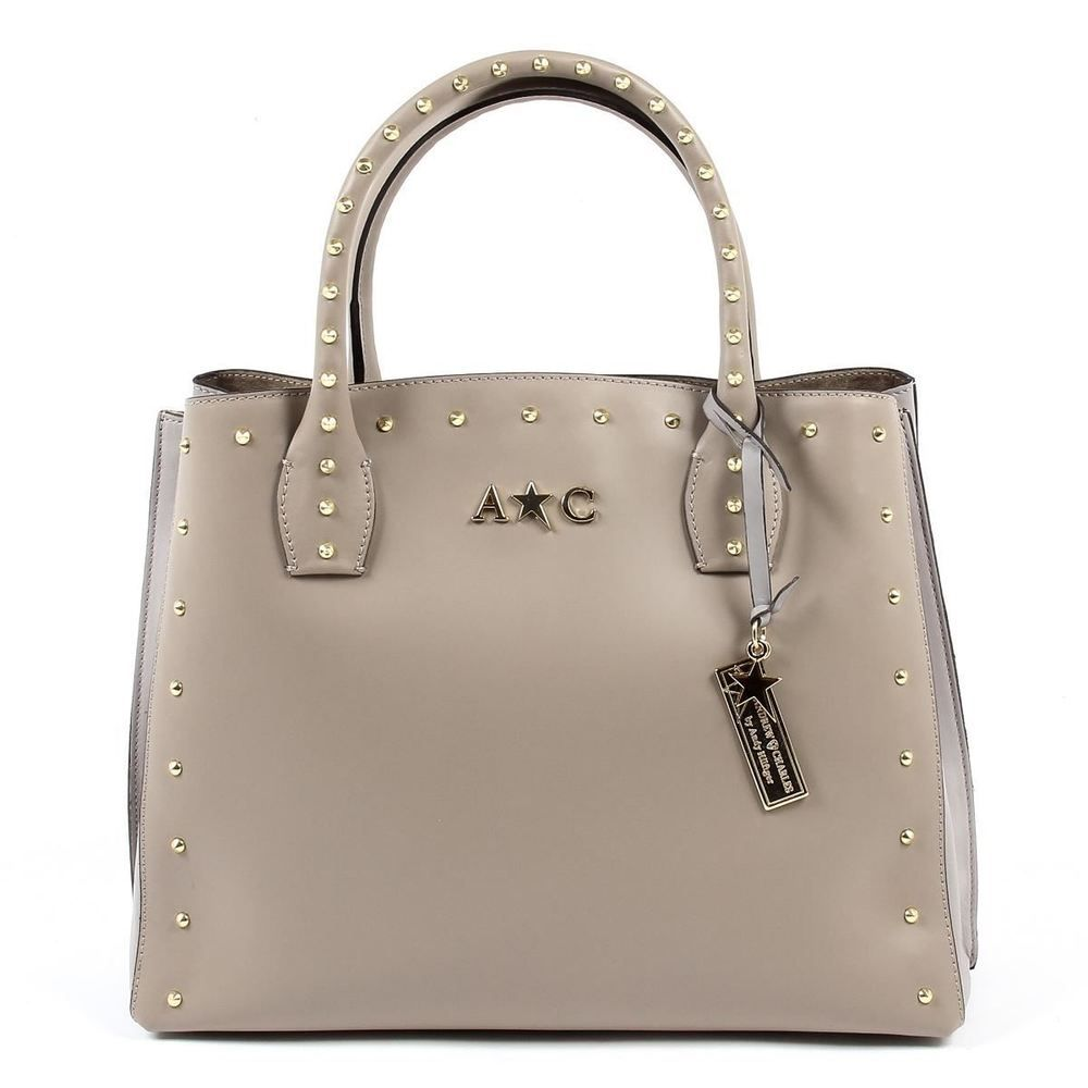 ... Andrew Charles Womens NELLY Leather Handbag TAUPE AndrewCharles Tote  best cheap 90288 31e75  Versace 19.69 Abbigliamento Sportivo Srl Milano  Italia ... ee5b233ea5212