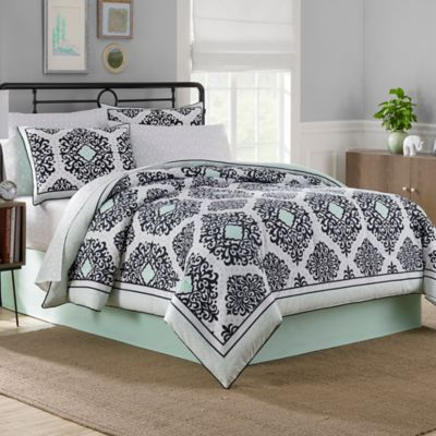 See more detail about Cooper Reversible 6-8 Piece Comforter Set in ...