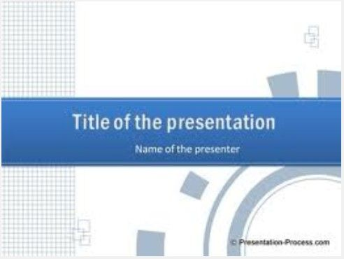 PPT Example Sonnekus Blue Pinterest - winter powerpoint template