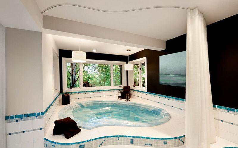 Awesome #home #spa design that exudes lavish comfort. | Pool | Hot ...