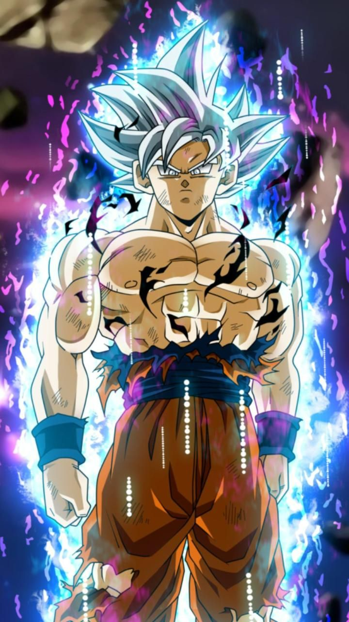 Download Goku Ultra Instinct Wallpaper By Shadowtheripper B8