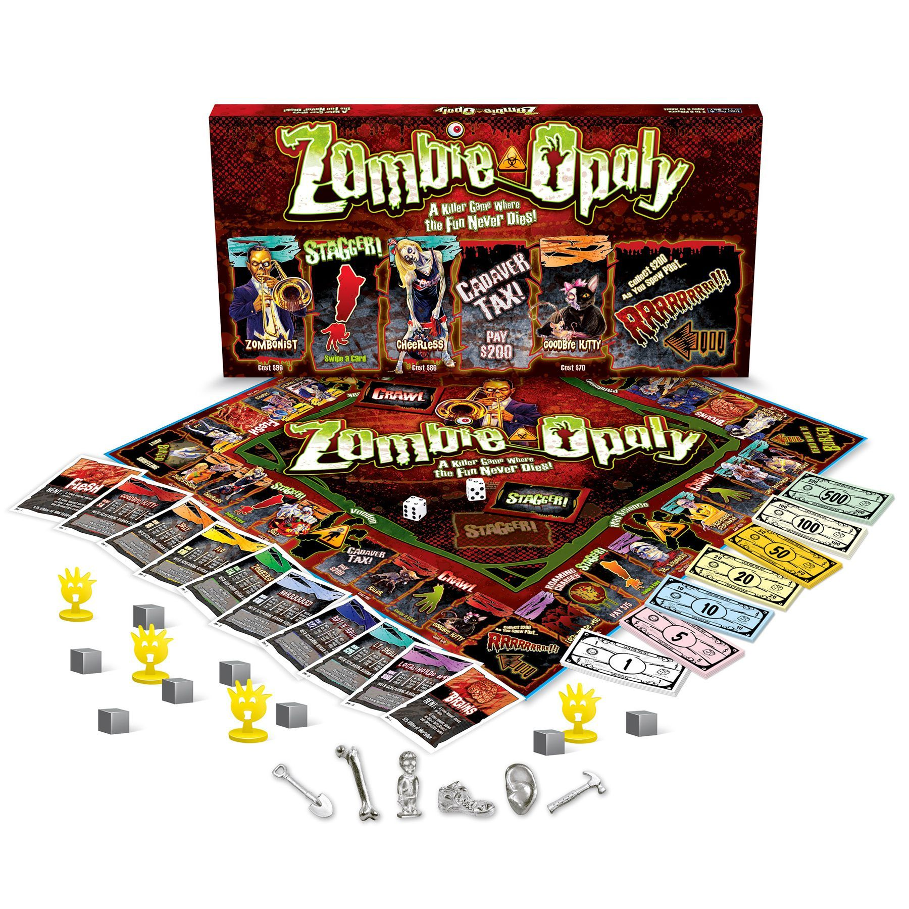 Overstock Com Online Shopping Bedding Furniture Electronics Jewelry Clothing More Games Zombie Zombie Board Game Board Games