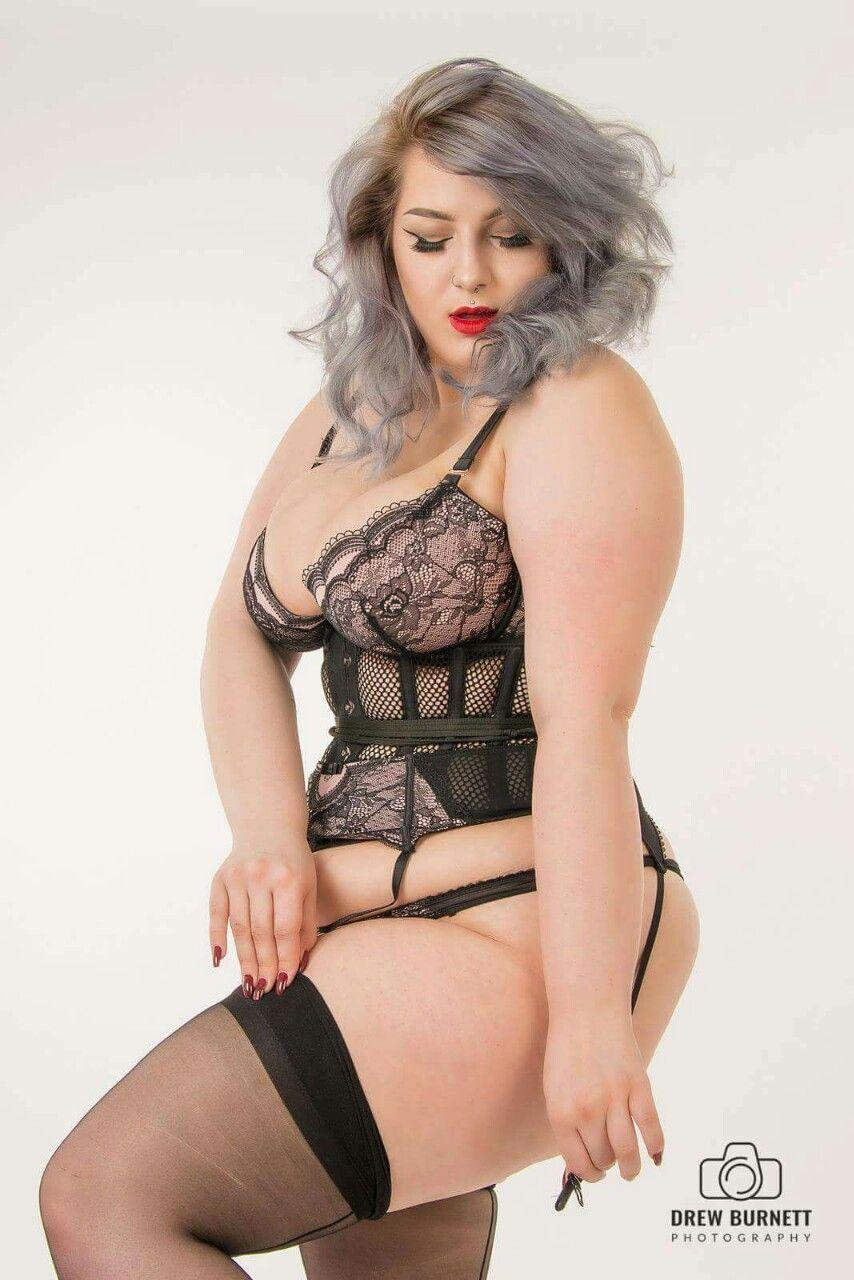 Plus Size Lingerie Beauty  Curves Rule 4  Curvy, Curves -7777