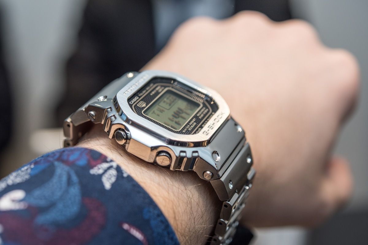 best service 8ed3f 91eb7 Hands-On With The Casio G-Shock GMW-B 5000 D-1 'Full Metal ...