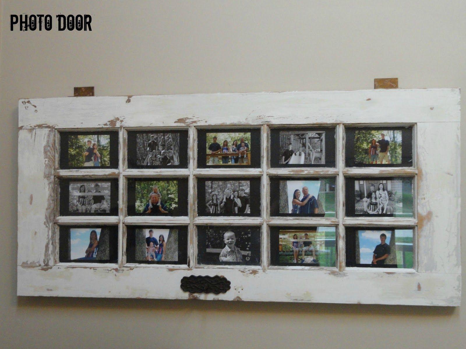 Photo Door Doors Repurposed Cool Diy Projects Door Picture Frame