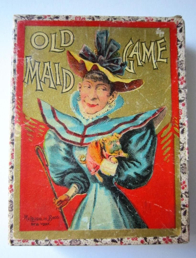Old maid card game card games old games carnival games