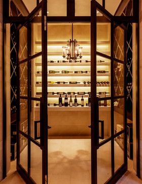 Caruth Residence - mediterranean - Wine Cellar - Dallas - Stocker Hoesterey Montenegro & Caruth Residence - mediterranean - Wine Cellar - Dallas - Stocker ...