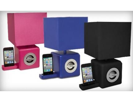 $45 For An IHome Speaker IPod Dock And LED Ambient Lamp ($107.95 Value).