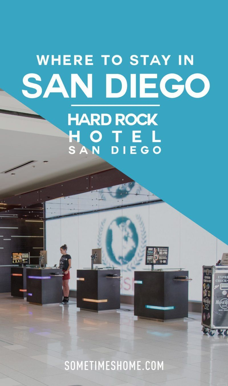 Hard Rock Hotel San Diego Hotel, Calfornia, Downtown