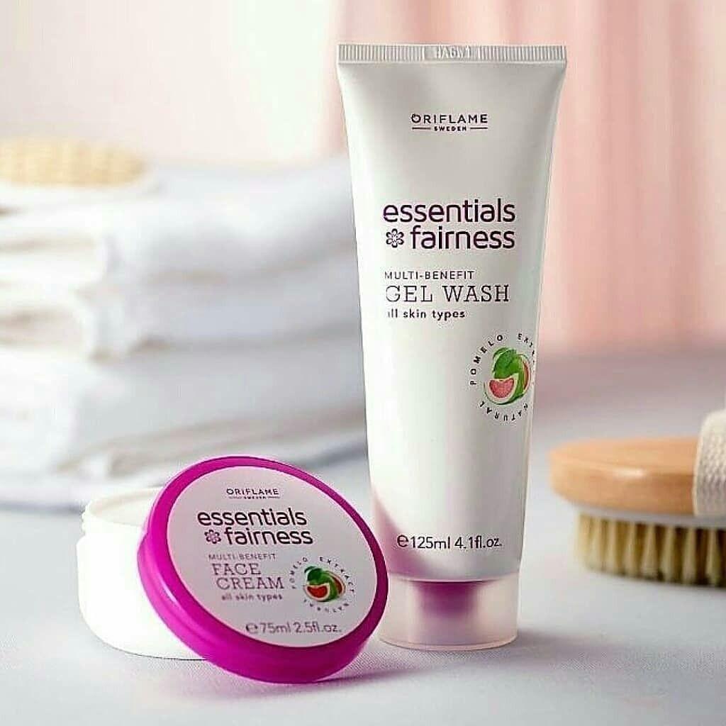 Essentials Fairness Multi Benefit Gel Wash Essentials Fairness Multi Benefit Face Cream Essentials Fairness Mult Face Cream Oriflame Beauty Products Gel Wash