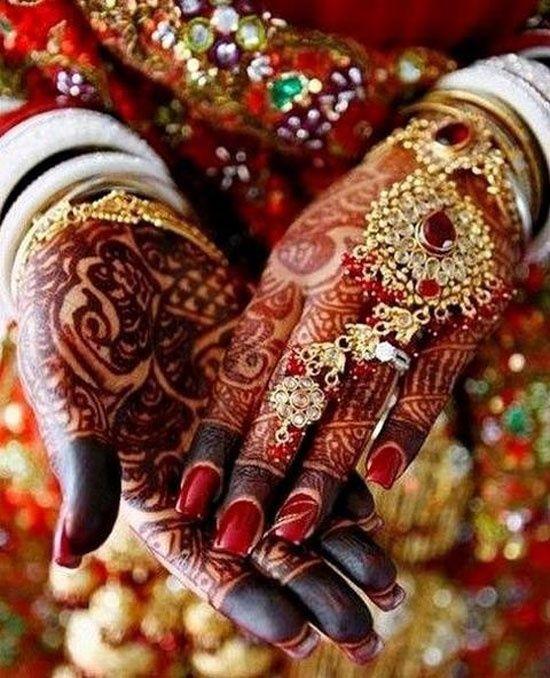 Wedding Mehendi Hands