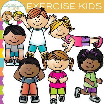 Kids Exercise Clip Art Kids Clipart Exercise For Kids Clip Art