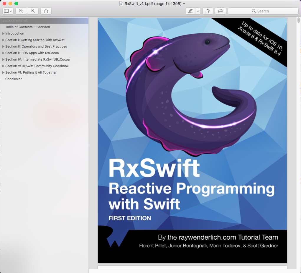 Download pdf ios animations by tutorials fourth edition ios 11 and download rxswift reactive programming with swift first edition pdf file full source code please contact me baditri Gallery