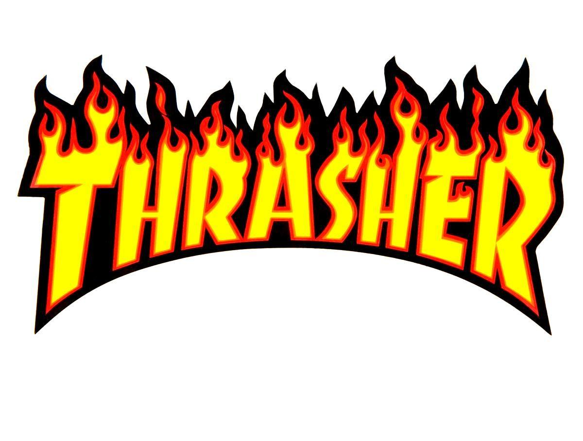 THRASHER magazine title logo | STREETERS | Pinterest ...