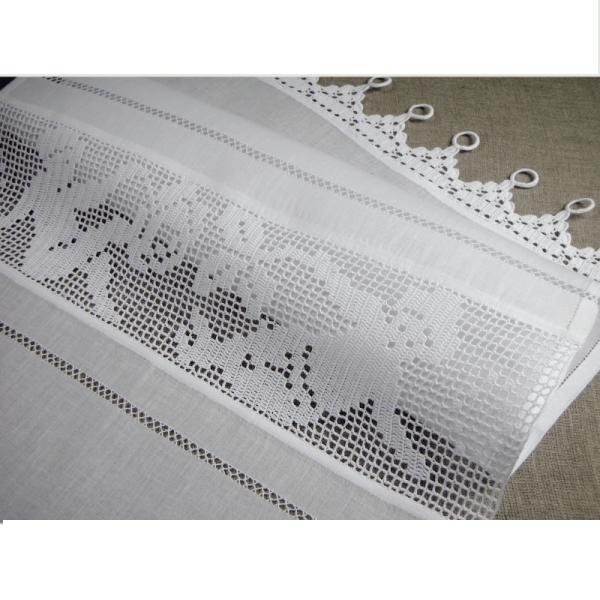 rideau ange crochet lilie rose d co tende pinterest rose and crochet. Black Bedroom Furniture Sets. Home Design Ideas