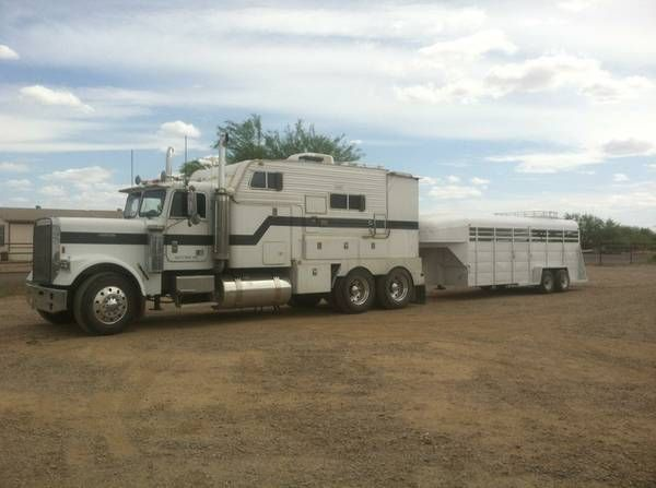 Custom Cowboy Toter Home Rodeo Rig Trailer Puller Recreational Vehicles Unimog Horse Life